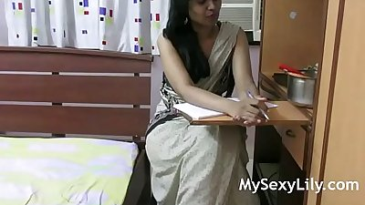 HORNY LILY INDIAN BABE ROLE PLAY