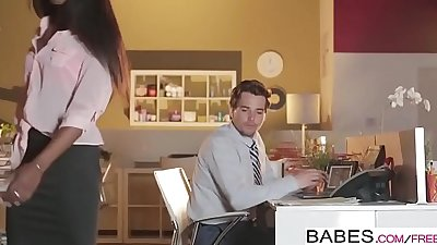 Babes - Office Obsession - Bitch Boss starring Tyler Nixon and Ana Foxxx clip