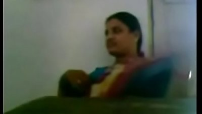 Andhra School Teacher Boobs Pressed