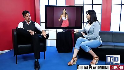 DigitalPlayground - Wild Teen Talk Show starring Lily Adams and Ryan Driller